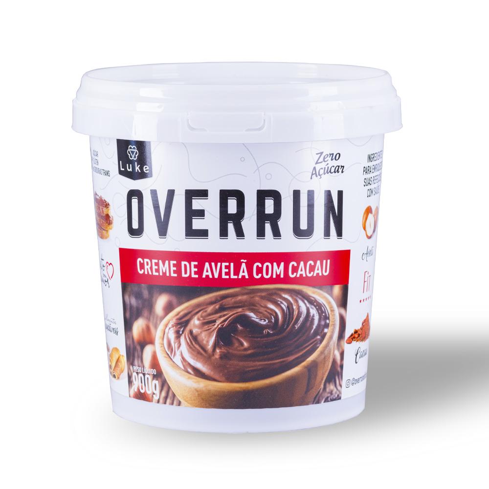 Creme de Avelã C/ Cacau Zero Açúcar 900gr