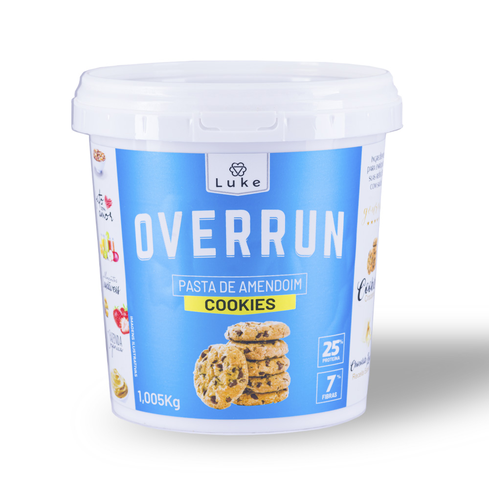 Pasta de Amendoim c/ Cookies 900gr