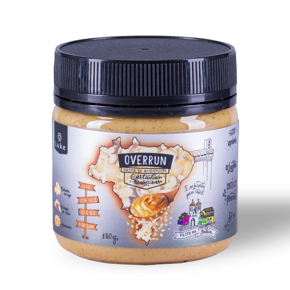 Pasta de Amendoim Castanhas Brasileiras160gr