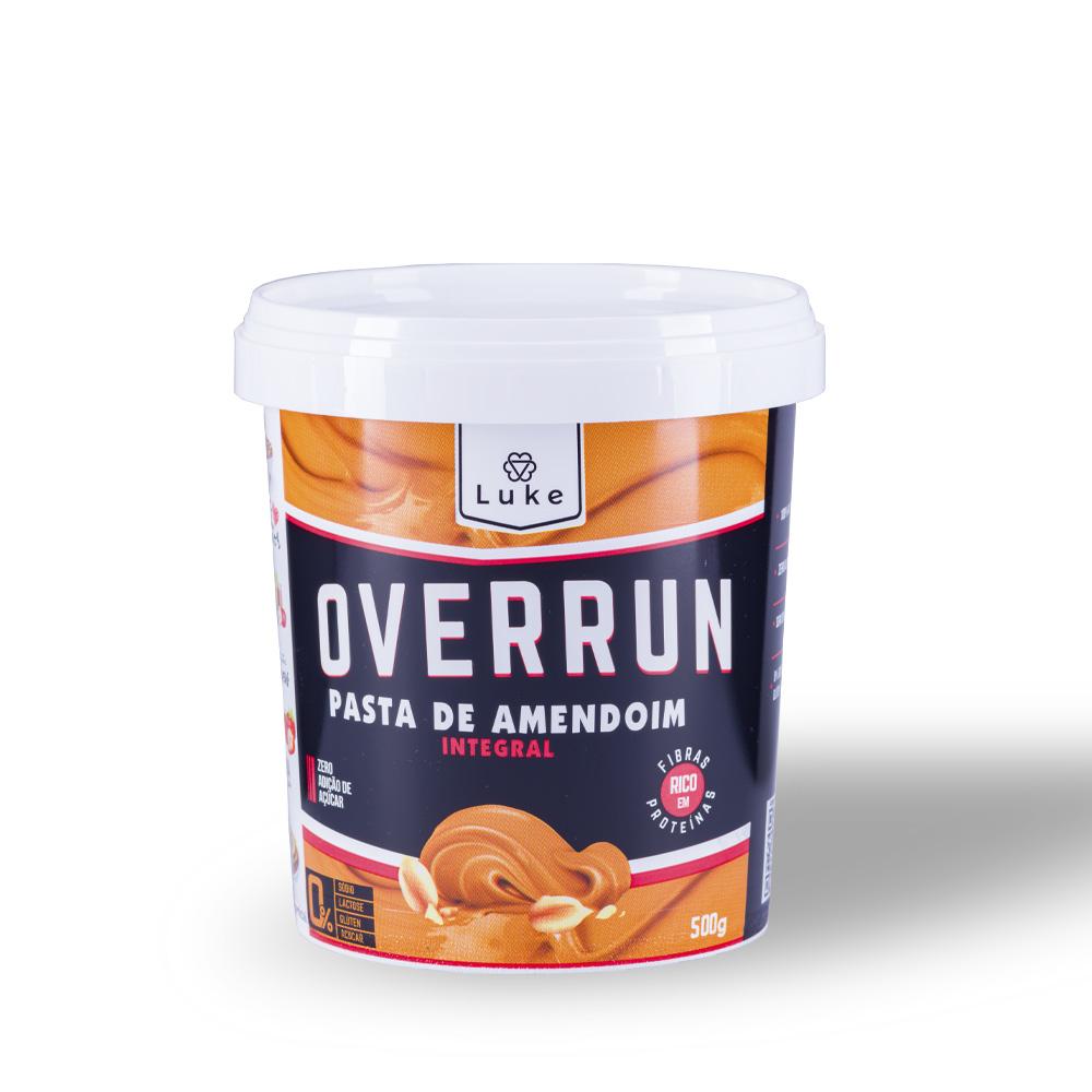Pasta de Amendoim Integral Cremosa 500gr