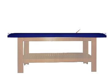 Mesa Spá Shelf MDF - (Estrutura Amêndola Rústica)