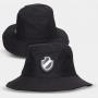 Chapéu Bucket Hat Vasco Escudo Minimalista Preto
