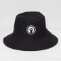 Chapéu Bucket Hat Vasco Respeito e Igualdade Preto