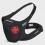 Máscara de Proteção Esportiva Preta Vasco Cruz de Malta