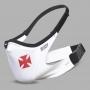 Máscara de Proteção Esportiva Vasco Branca Cruz de Malta