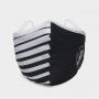 Máscara de Proteção Vasco Listras com Escudo Lateral