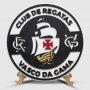 Placa Decorativa Vasco Brasão Alto Relevo
