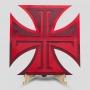 Placa Decorativa Vasco Cruz de Malta