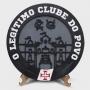 Placa Decorativa Vasco O Legítimo Clube do Povo