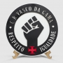 Placa Decorativa Vasco Respeito e Igualdade