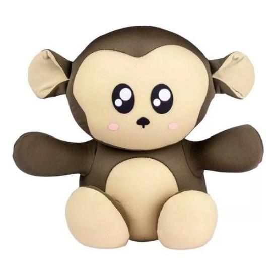 Almofada Macaco Sentadinho