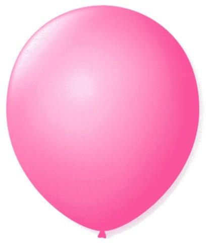 Balão Liso 7,0 Imperial ROSA TUTTI FRUTTI (50 Unidades) - São Roque