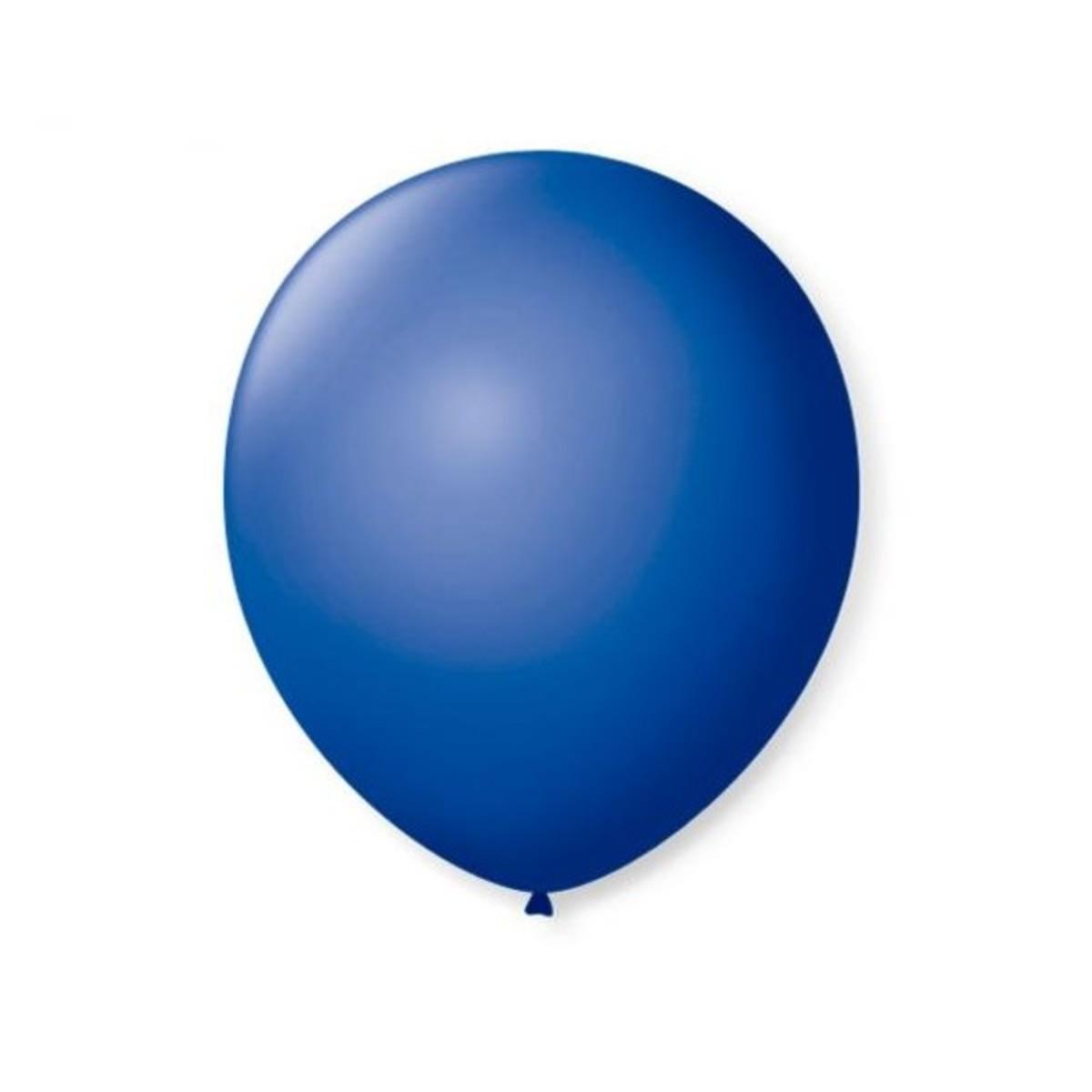 Balão Top 6,5 Liso AZUL ESCURO (50 Unidades)