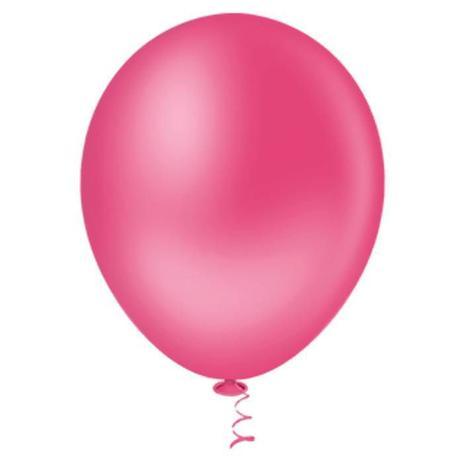 Balão Top 6,5 Liso ROSA FORTE (50 Unidades)