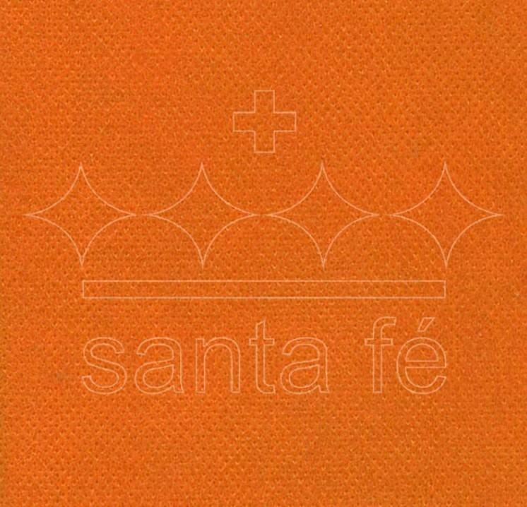 Bobina TNT com 1.40x50m LARANJA - Santa Fé