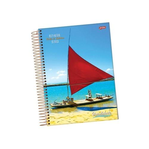 Caderno Espiral 1/4 96 Folhas PT 10