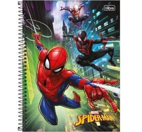 Caderno Espiral C.D. - Spider Light 80 Folhas - Tilibra