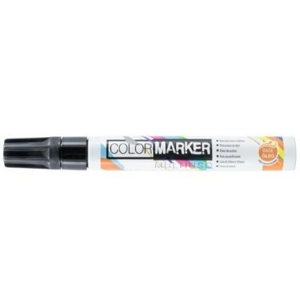 Caneta Color Marker PRETO - Acrilex (6 Unidades)
