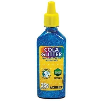 Cola Gliter 35g AZUL 204 - Acrilex
