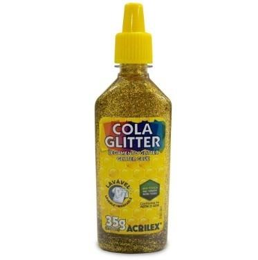 Cola Gliter 35g OURO 201 - Acrilex