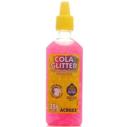 Cola Gliter 35g PINK 527 - Acrilex
