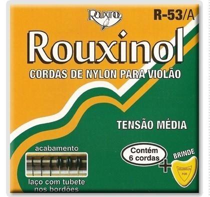 Encordoamento para Violão Nylon R-53/A PRETO