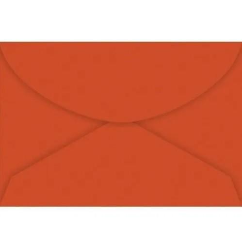 Envelope Carta VERMELHO 114x162 (10 Unidades)