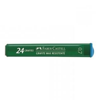 Grafite 0,7 B 12 Tubos com 24 Grafites - Faber Castell