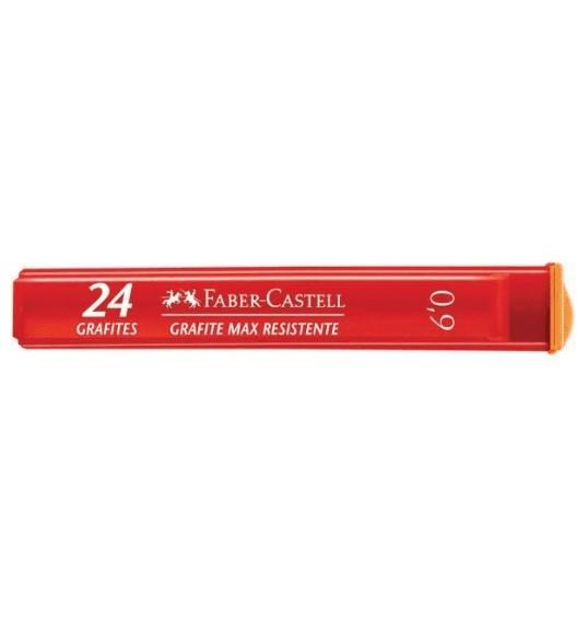 Grafite 0,9 B 12 Tubos com 24 Grafites + 2 Tubos B grátis - Faber Castell