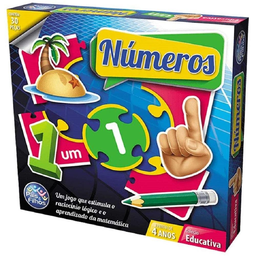Jogo - Brincar de Aprender - Números