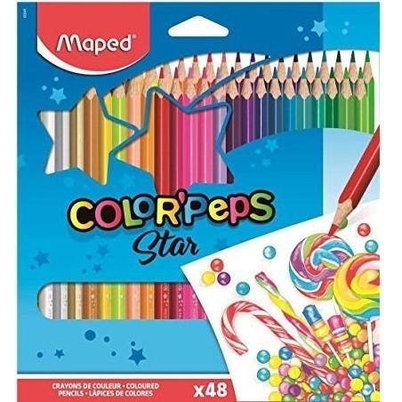 Lápis de Cor - 48 Color Peps