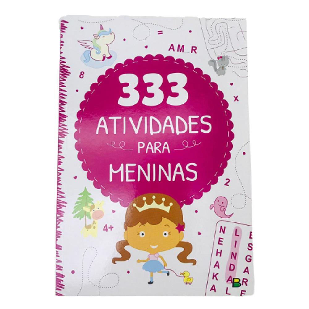 LIV. 333 ATIVIDADES P/ MENINAS