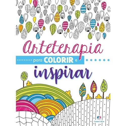 Livro - Arteterapia para Colorir e Inspirar