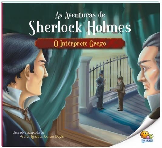 Livro - As Aventuras de Sherlock Holmes: O Intérprete Grego