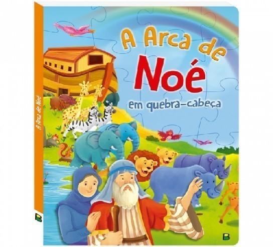 Livro - Aventuras Bíblicas em Quebra-Cabeça: A Arca de Noé