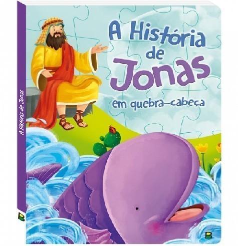 Livro - Aventuras Bíblicas em Quebra-Cabeça: A História de Jonas