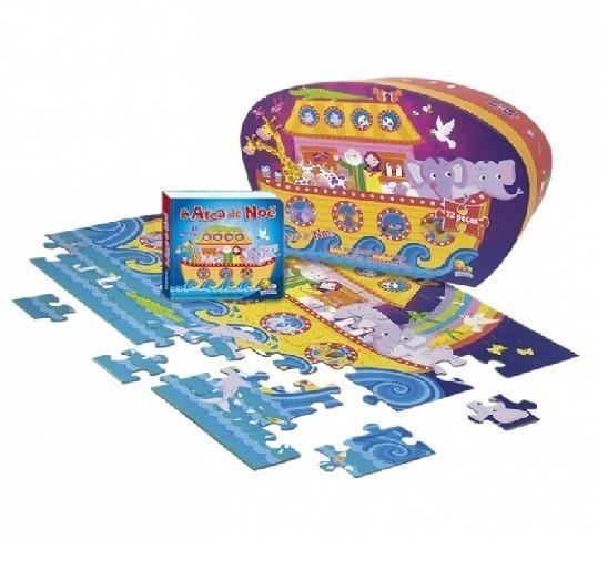 Livro - Aventuras do Mundo Quebra-cabeça II: Arca de Noé