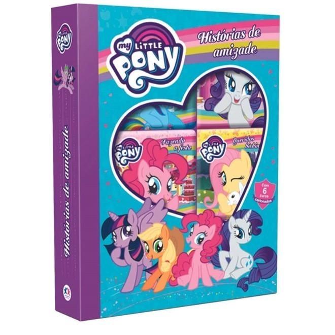 Livro - Box My Little Pony Jornada da Amizade com 6