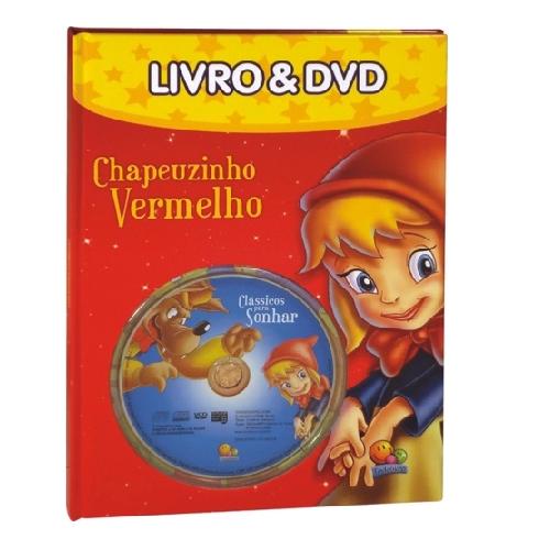 Livro - Clássicos Para Sonhar - Chapeuzinho Vermelho