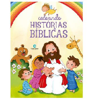 Livro Colorindo Histórias Biblicas