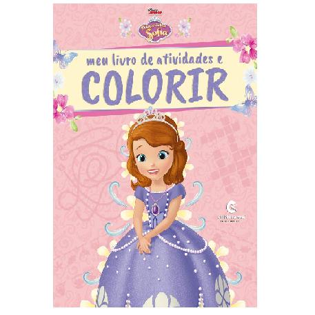 Livro de Atividades e Colorir - Princesinha Sofia com Giz