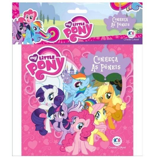 Livro de Banho: My Little Pony - Conheça as Pôneis