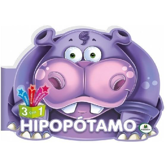Livro - Descobrindo o Mundo: Hipopótamo