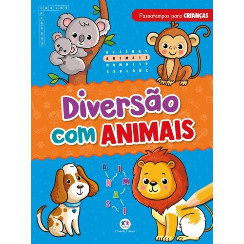 Livro - Diversão com Animais