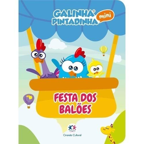 Livro - Galinha Pintadinha Mini - Festa dos Balões