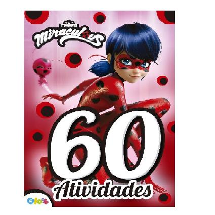 Livro - Ladybug - 60 Atividades