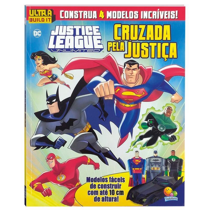 Livro - Liga da Justica - Cruzada pela Justica