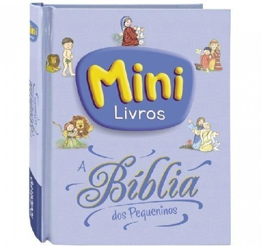 Livro - Mini Livros: A Biblia dos Pequeninos