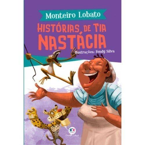 Livro - Monteiro Lobato - Historias de Tia Nastácia