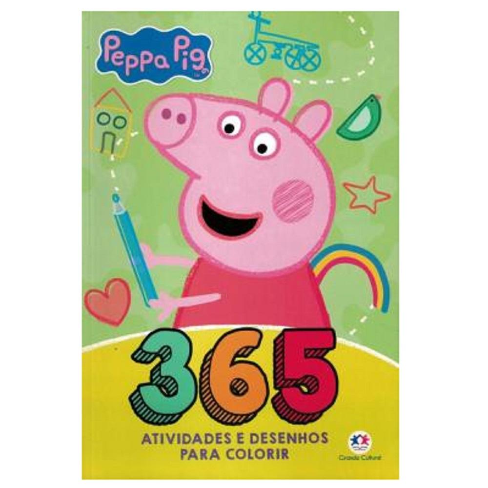 Livro - Peppa Pig - 365 Atividades e Desenhos para Colorir